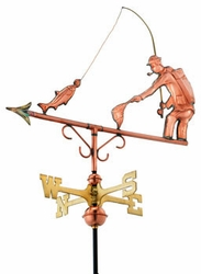 Fisherman Weathervane - Click to enlarge