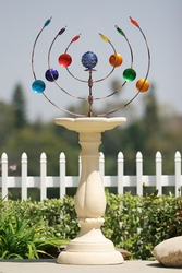 Multicolor Kinetic Art Pedestal - Click to enlarge