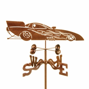 Funny Car Weathervane - Click to enlarge