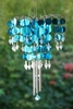 Shimmer Chandelier Wind Chime - Blue