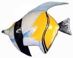 Baby Blue Angel Fish Decor