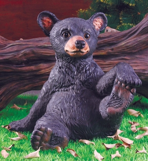 Bear Cub Statue - Click to enlarge