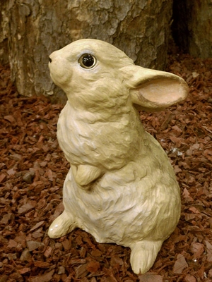 Garden Bunny Statue - Click to enlarge