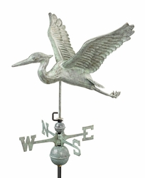 Full-Sized Heron Weathervane - Click to enlarge
