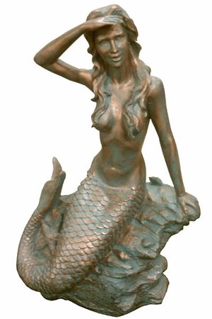 Classic Mermaid Statue - Click to enlarge