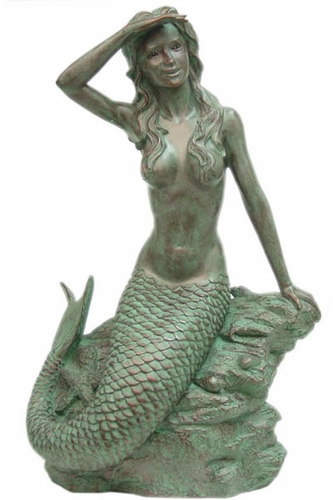 Large Classic Mermaid - Click to enlarge