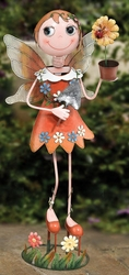 Fairy Garden Decor LG - Orange - Click to enlarge