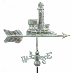 Garden Lighthouse Weathervane - Click to enlarge