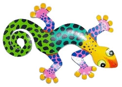 XL Leopard Gecko Wall Art - Click to enlarge
