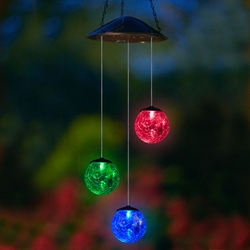 Anywhere Triple Glass Ball - Color Changing - Click to enlarge