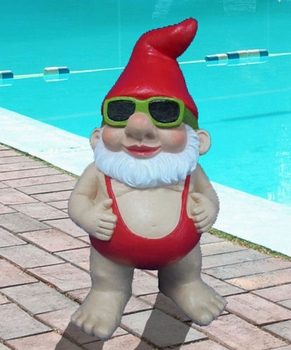 Sammi Mankini Gnome Statue - Click to enlarge