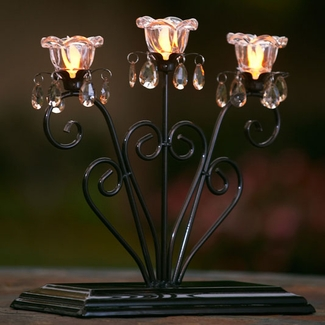 Anywhere Triple Flame Centerpiece - Click to enlarge