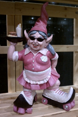 Route 66 Diner Gnome - Click to enlarge