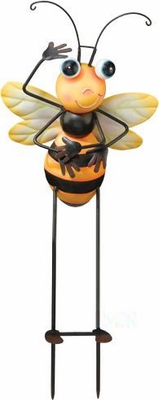 Baby Bee Garden Stake - Click to enlarge