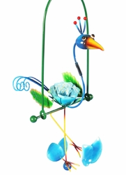 Hanging Swing Bird Flowers - Click to enlarge