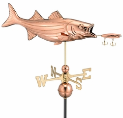 Bass & Lure Weathervane - Click to enlarge