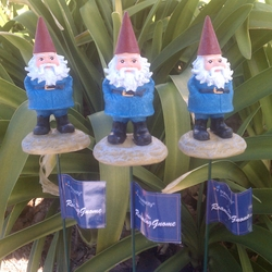 Travelocity Gnome Garden Stakes - Click to enlarge