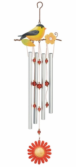 Goldfinch Wind Chime - Click to enlarge