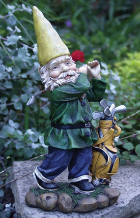 Golf Gnome Figurine - Click to enlarge