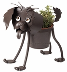 Rowdy the Puppy Dog Planter