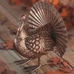 Thanksgiving Metal Turkey