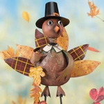 Turkey Boy Garden Decor