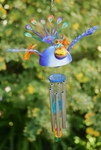 Flying Peacock Wind Chime