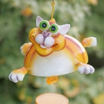 Flying Cat Wind Chime