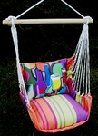 Bon Temps Wine Bottles Hammock Chair Swing Set