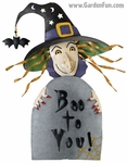 Halloween Witch - Boo To You Decor