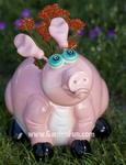Large Pig Phatzo Planter