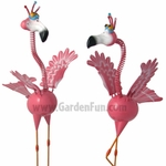 GeekyBeek Pink Flamingo Flockers