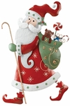 "23"" Santa Wall Decor"