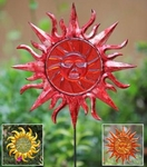 Sunface Garden Stakes (Set of 6)