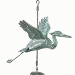 Heron Bird Wind Chime