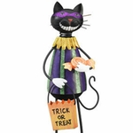 Cat Burglar Garden Decor