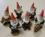Miniature Garden Gnomes (Set of 6)