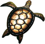 XL Bronzed Sea Turtle