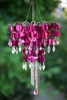 Shimmer Chandelier Wind Chime - Purple