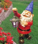 Garden Gnome with Solar Light