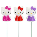 Hello Kitty Plant Stakes (Set of 3)