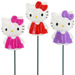 Hello Kitty Garden Stakes (Set of 3)