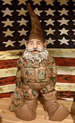 U.S. Army Gnome - Click to enlarge