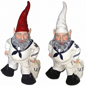 U.S. Navy Sailor Gnome - Click to enlarge