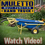 The Muletto: Little Mule Multi Cart