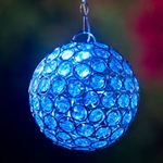 Glam Ball LED Lights - Blue