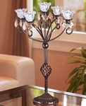 Anywhere 5 Flame Kami Candelabra - Bronze