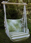 Summer Palm Tree Leaves Hammock Chair Swing Set
