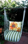 Summer Palms Sunflowers Hammock Chair Swing Set