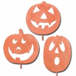 Halloween Pumpkin Stakes (Set of 3)